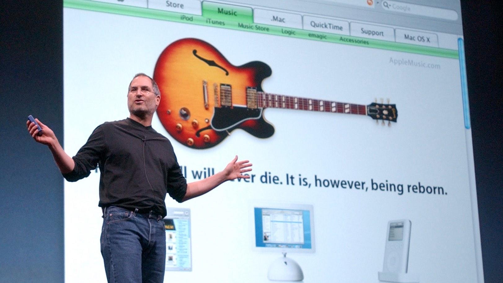 Steve Jobs Apple Music