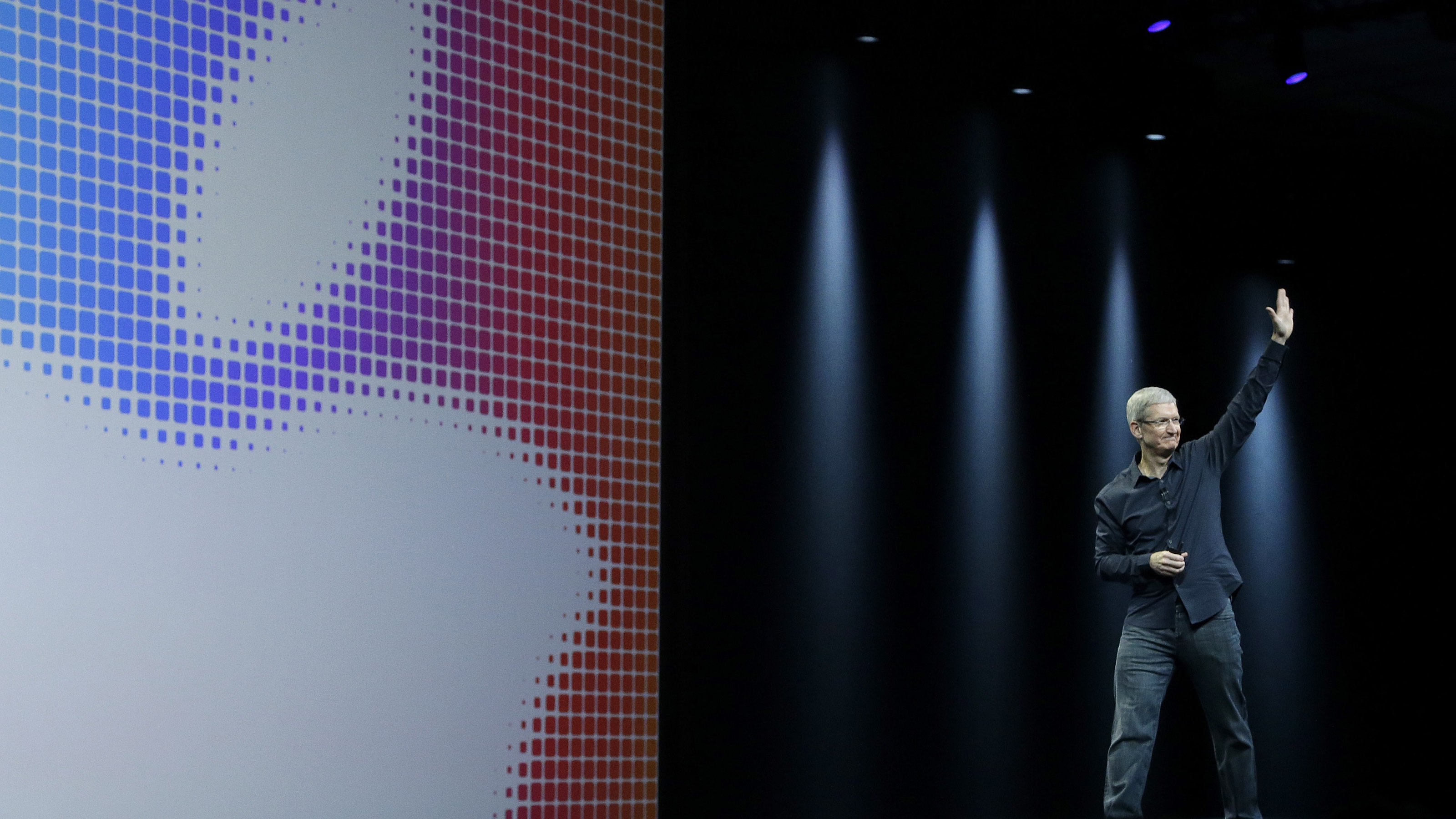 Apple CEO Tim Cook WWDC