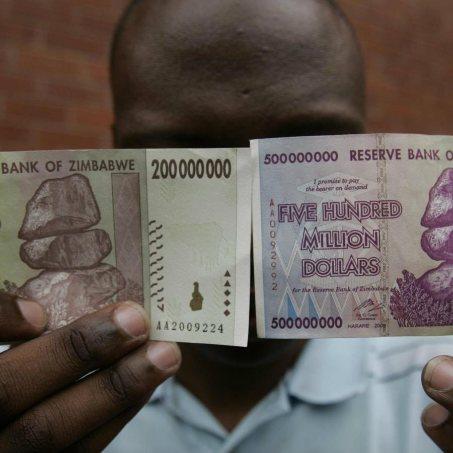 I was a quadrillionaire in Zimbabwe, but could barely afford
