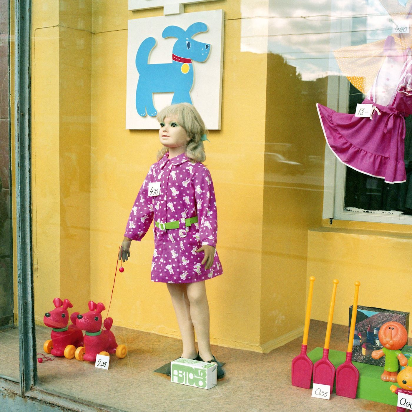 A toy store in Moscow, 1990.