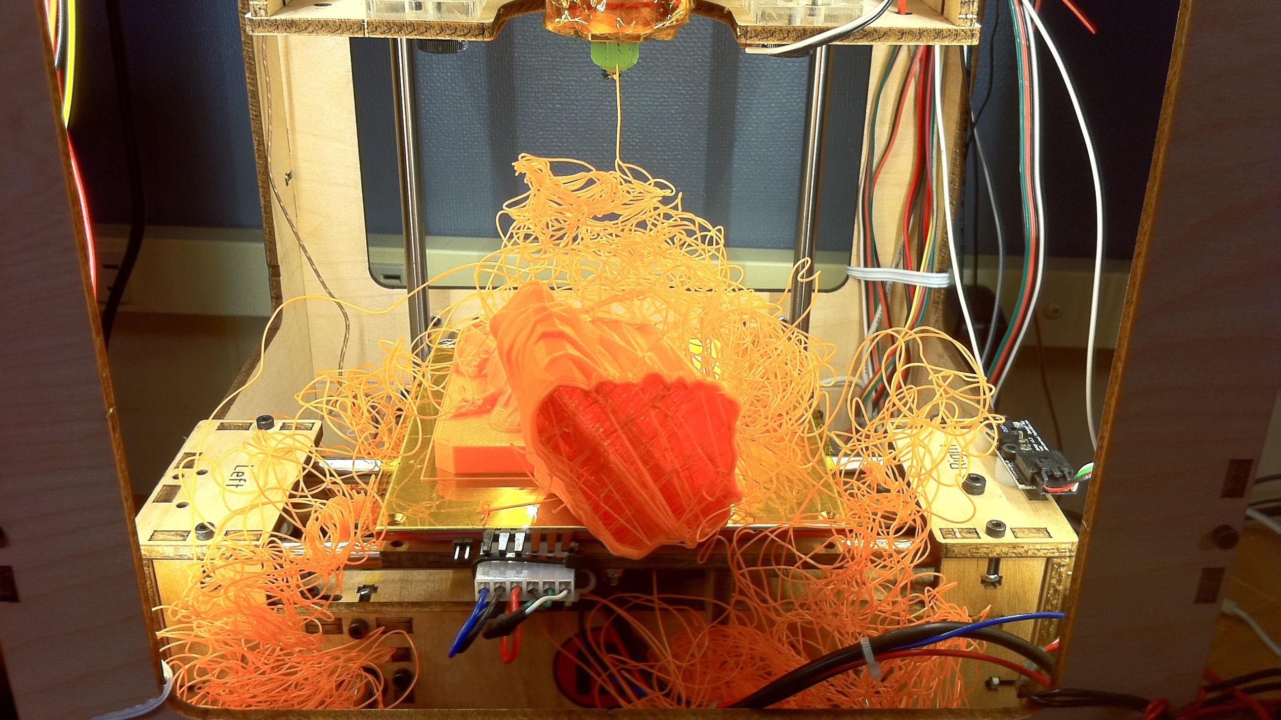 3d printing mess
