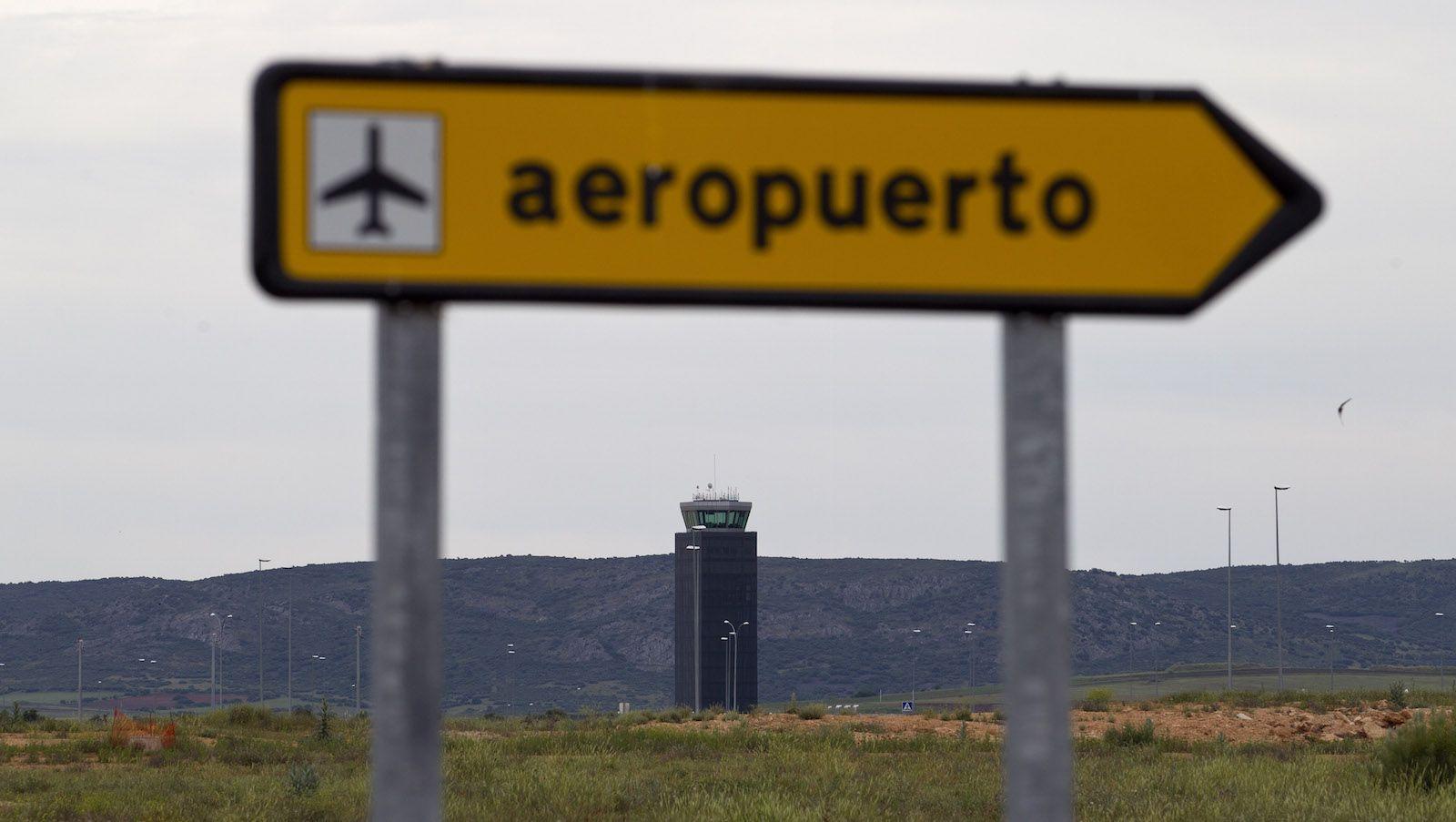 Ciudad Real's empty airport