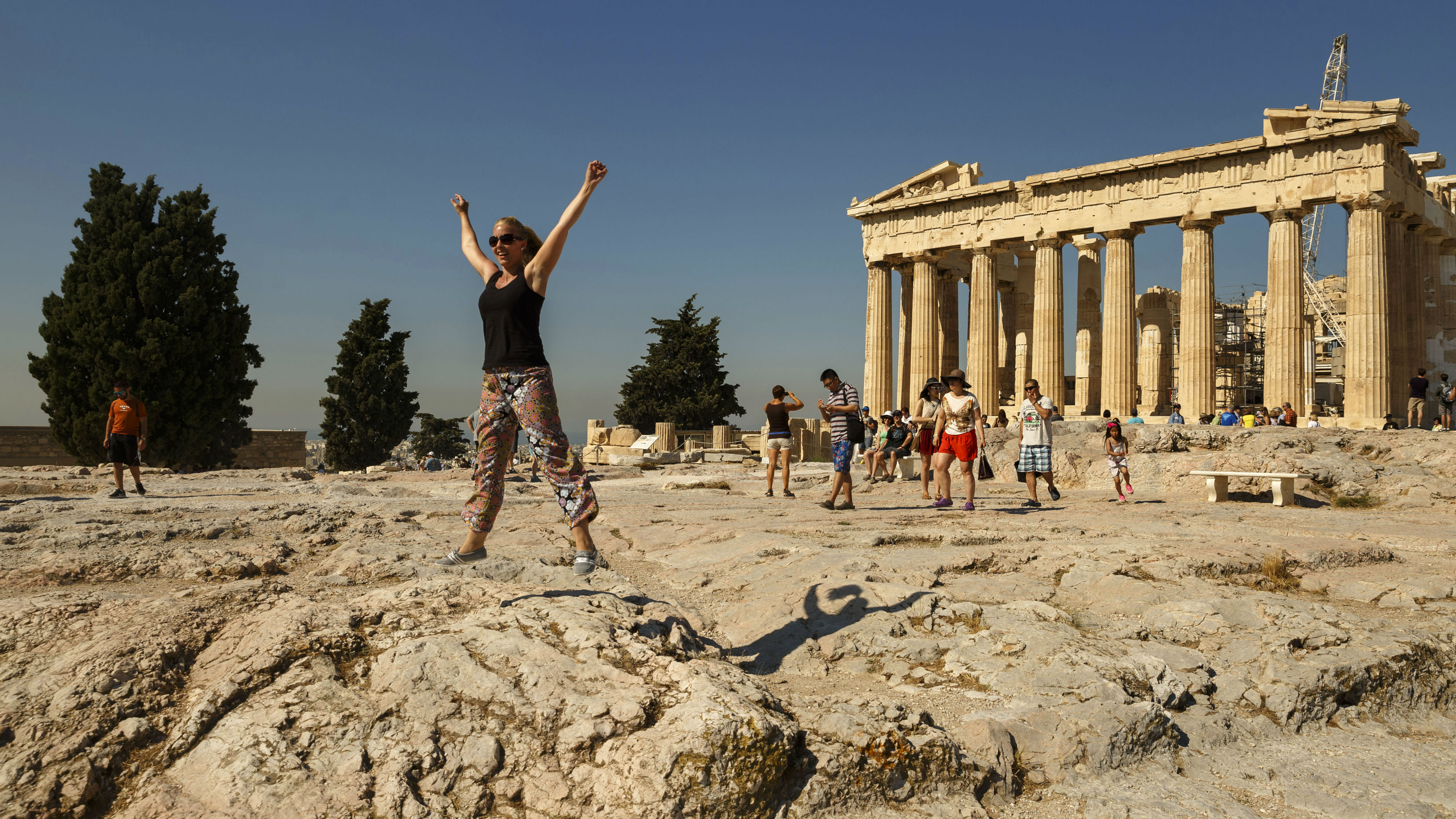 As the ancient Greeks rested and had fun