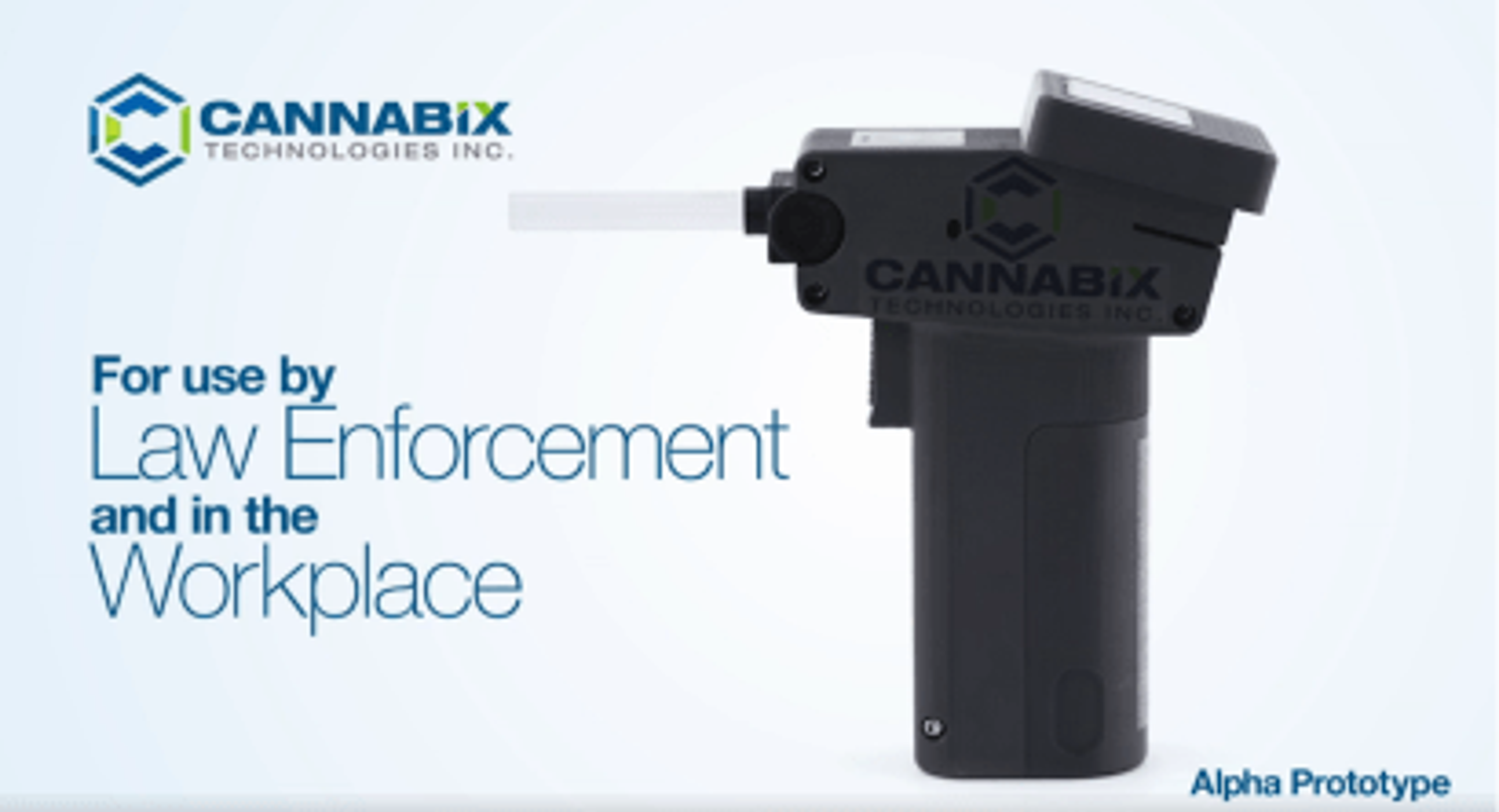 Cannabix prototype