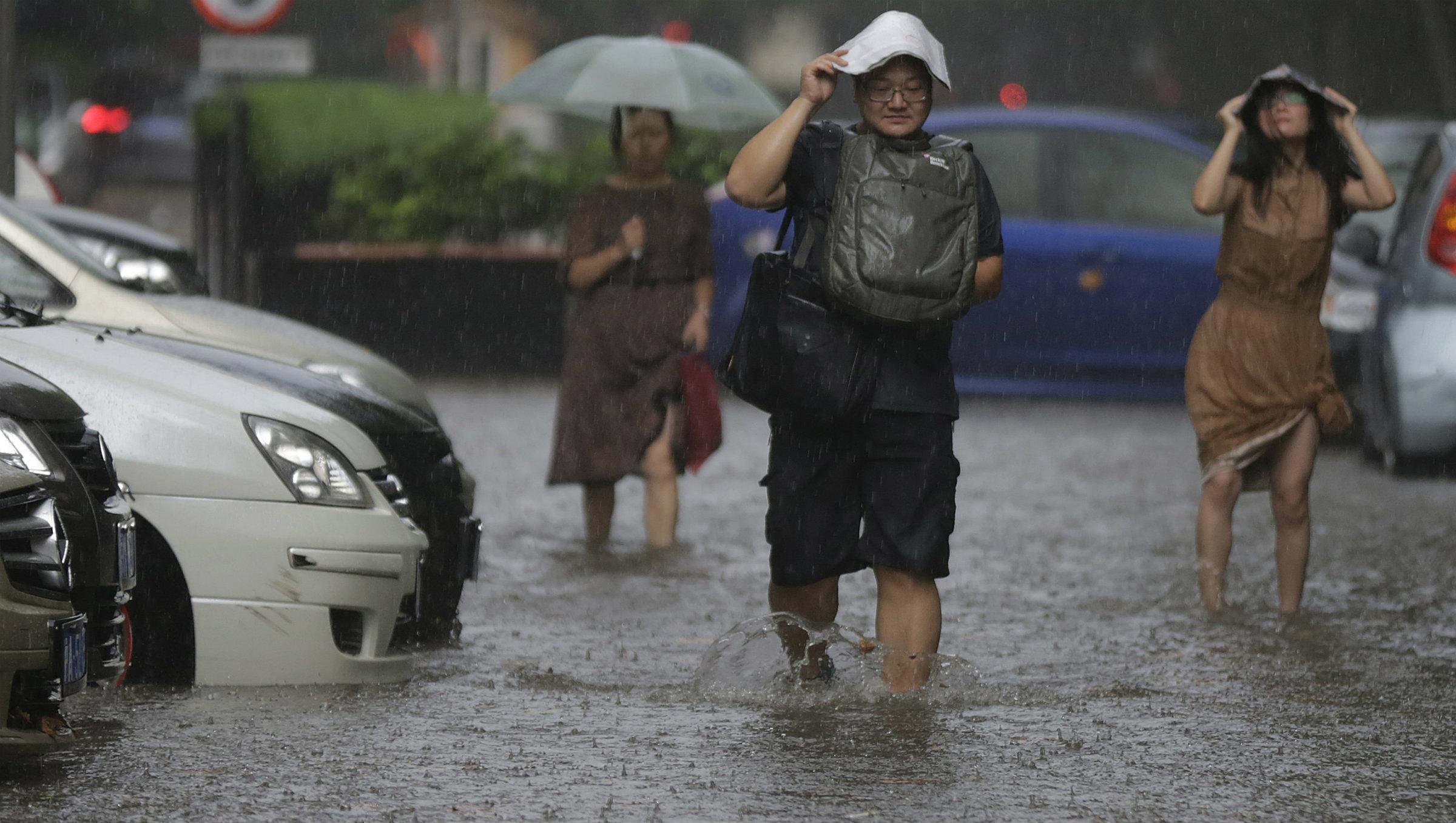 China invest rain