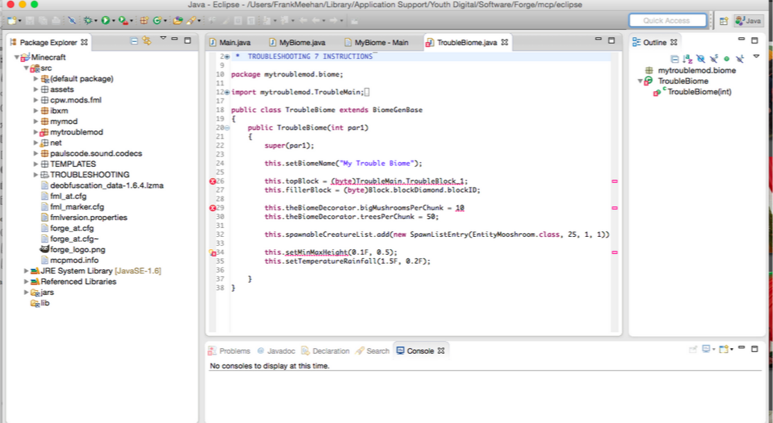 coding screenshot