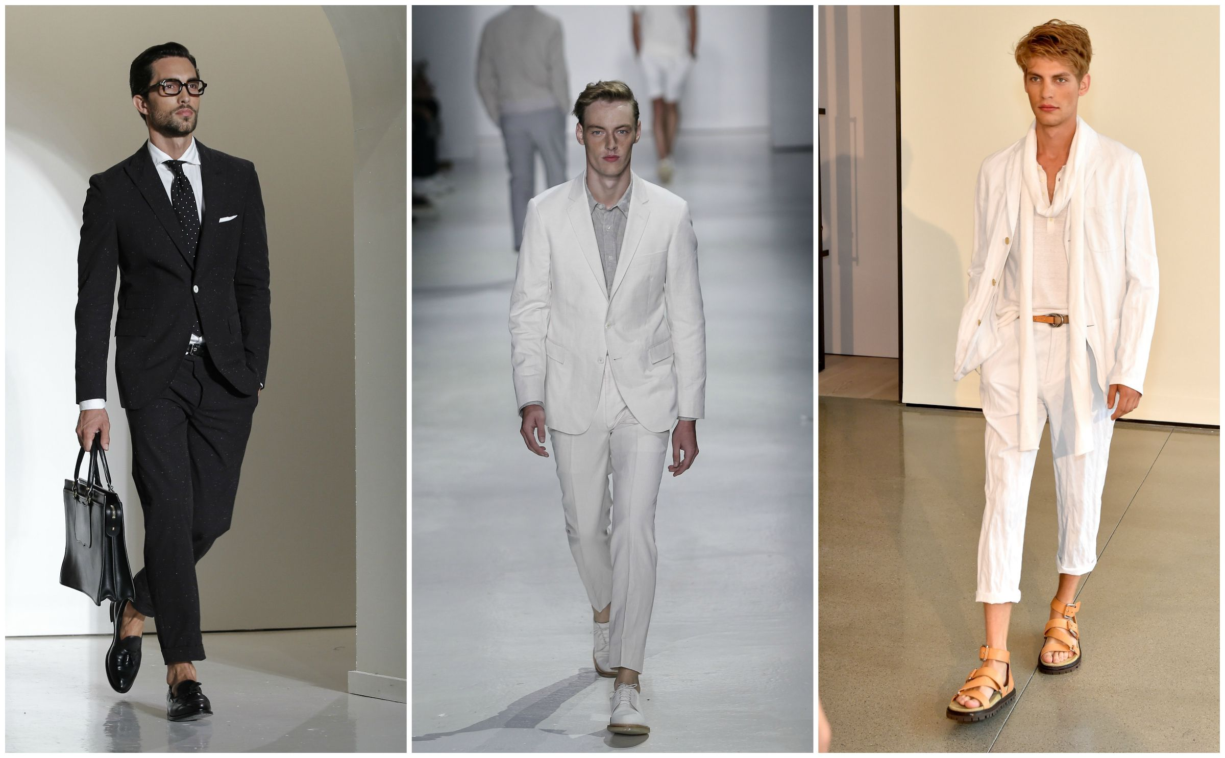 Looks from from the spring-summer 2016 shows of Michael Bastian, Todd Snyder, and Michael Kors.