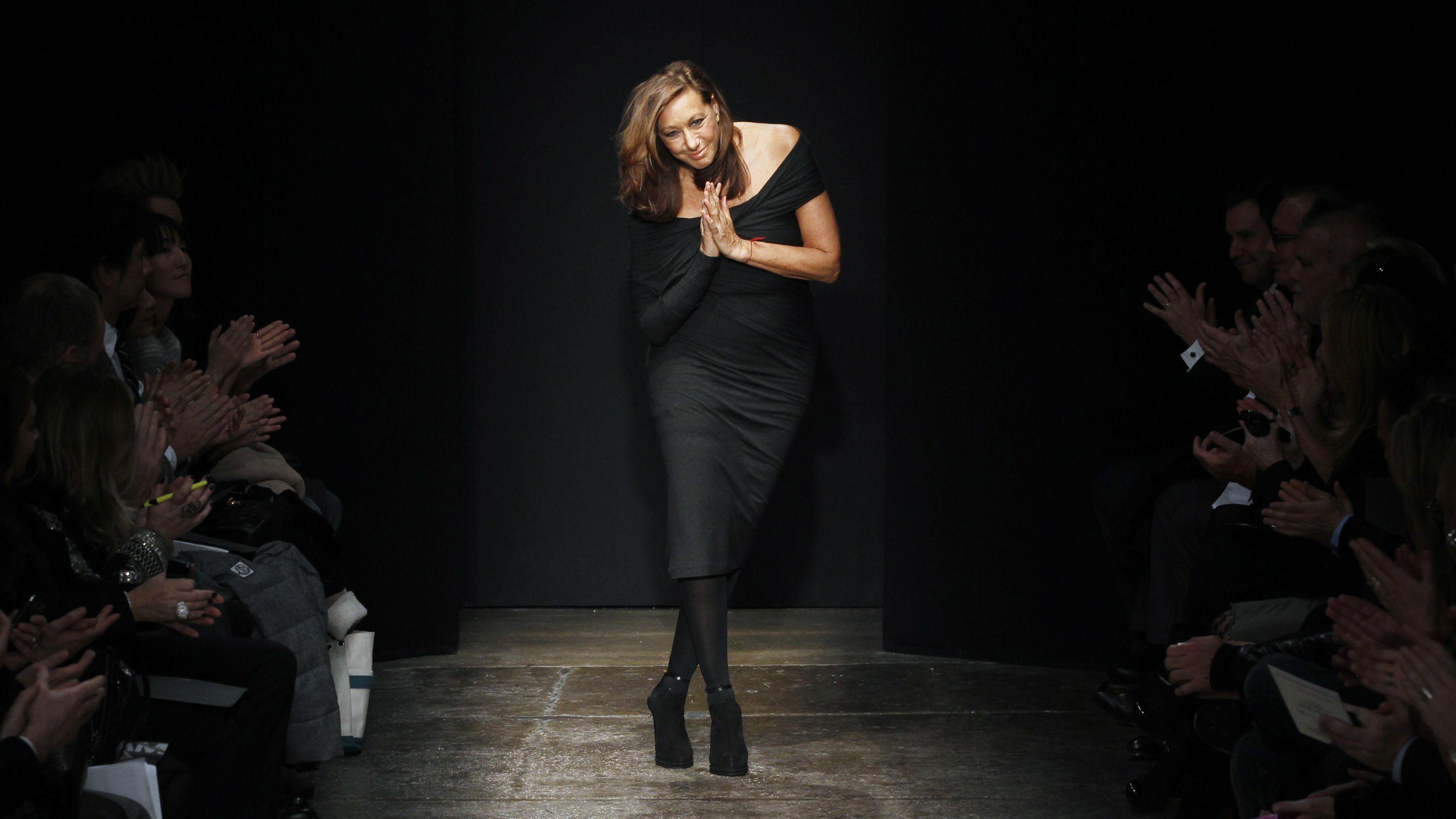 donna karan, bodysuit, retirement, seven easy pieces