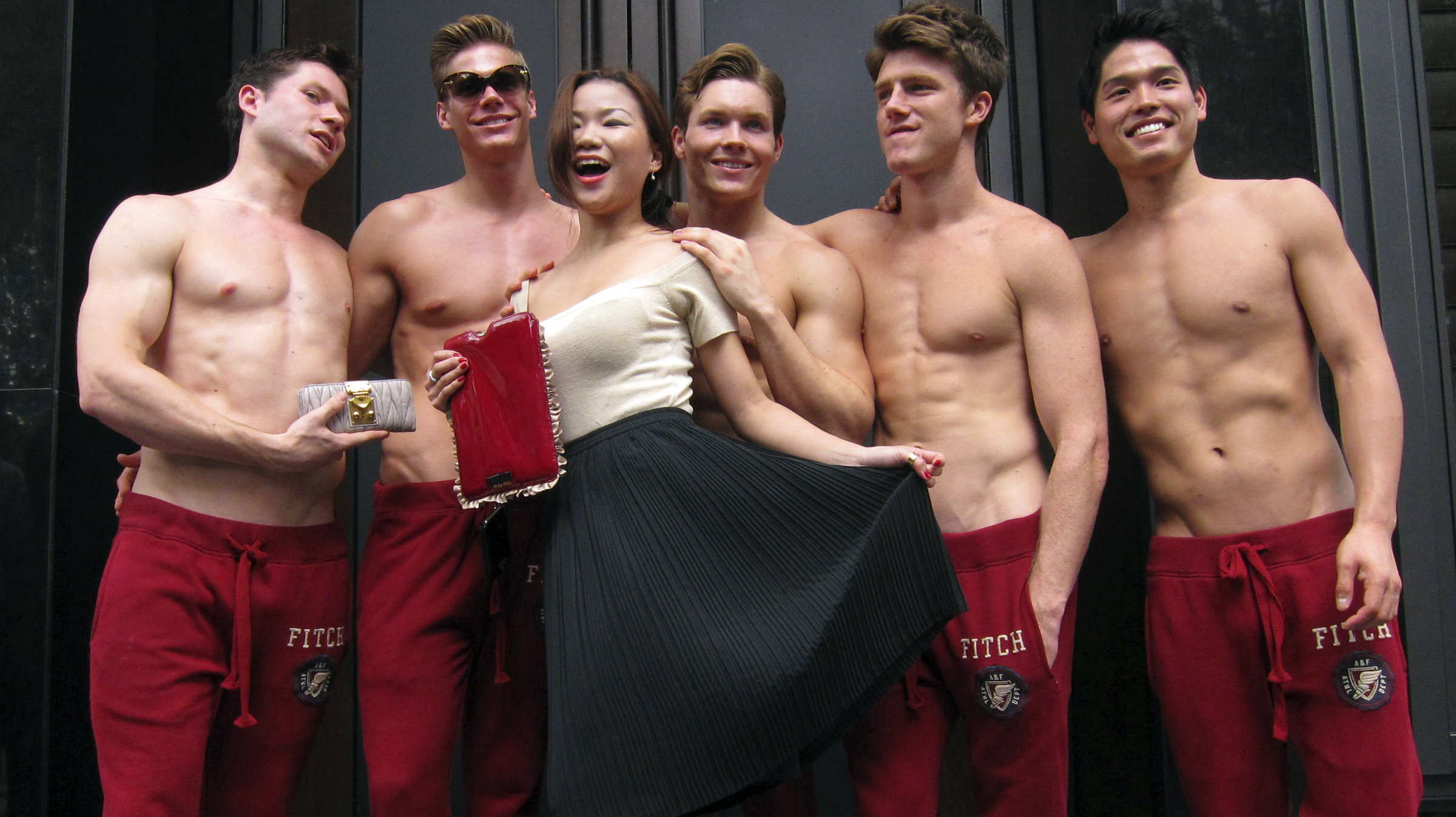 Shirtless And Marching To His Own >> Topless Foreign Men Are China S New Favorite Sales Force Quartz