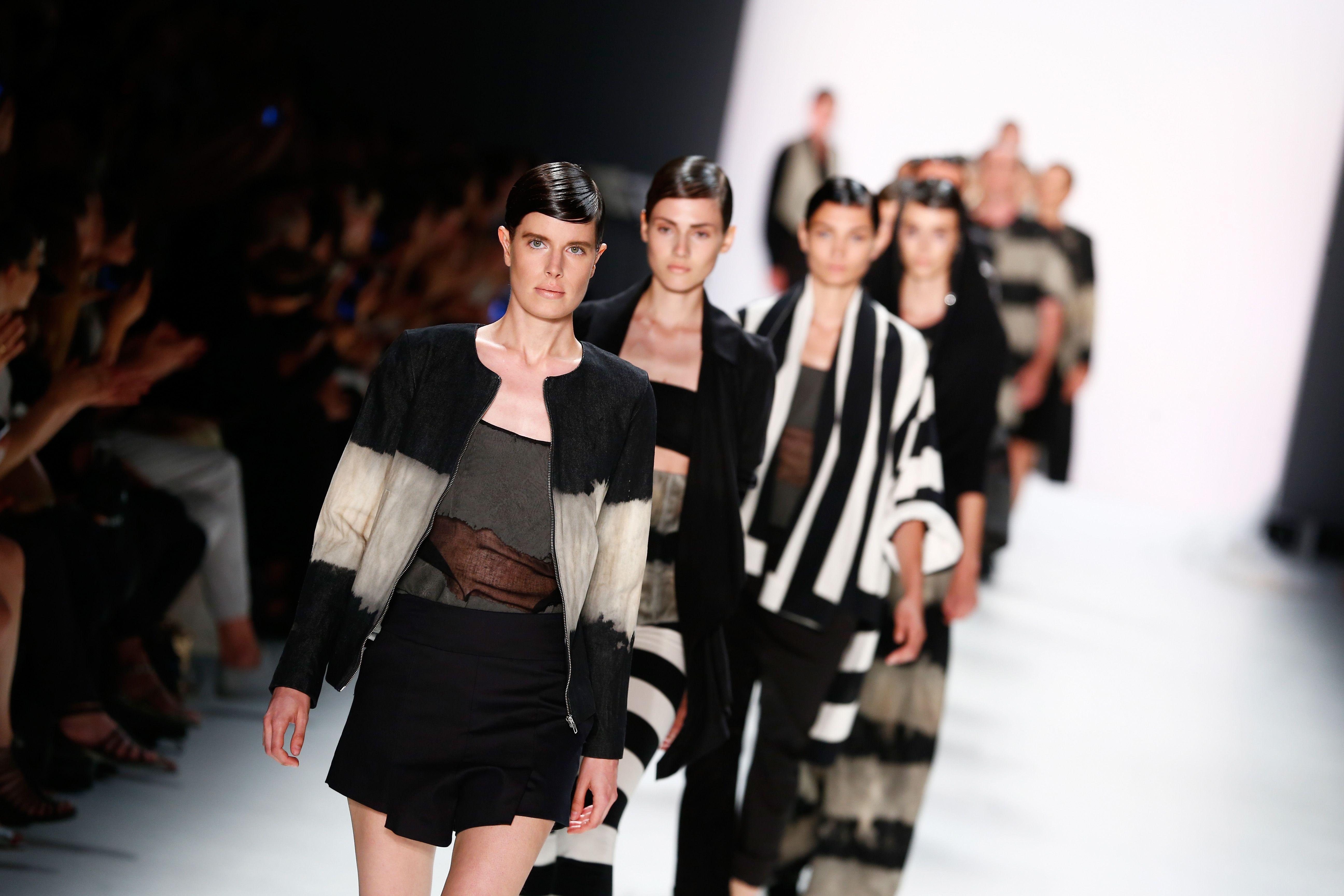 berlin fashion week, androgyny
