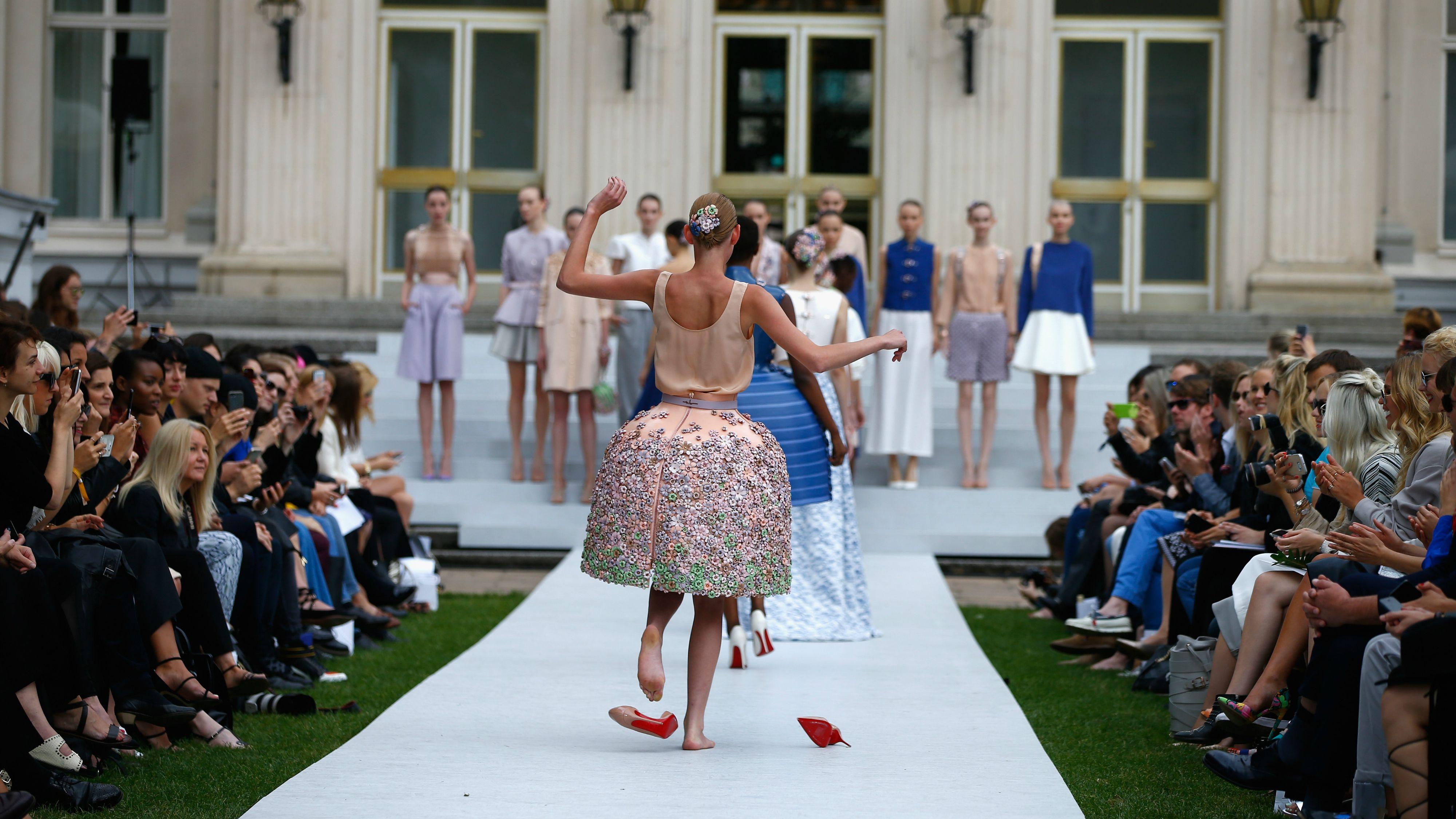 high heels, model, marina hoermanseder, berlin fashion week, spring 2016, high heels