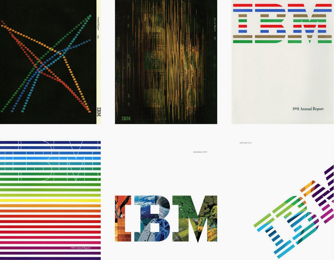 how to design an enduring logo  lessons from ibm and paul