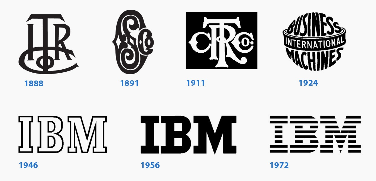 How to design an enduring logo: Lessons from IBM and Paul