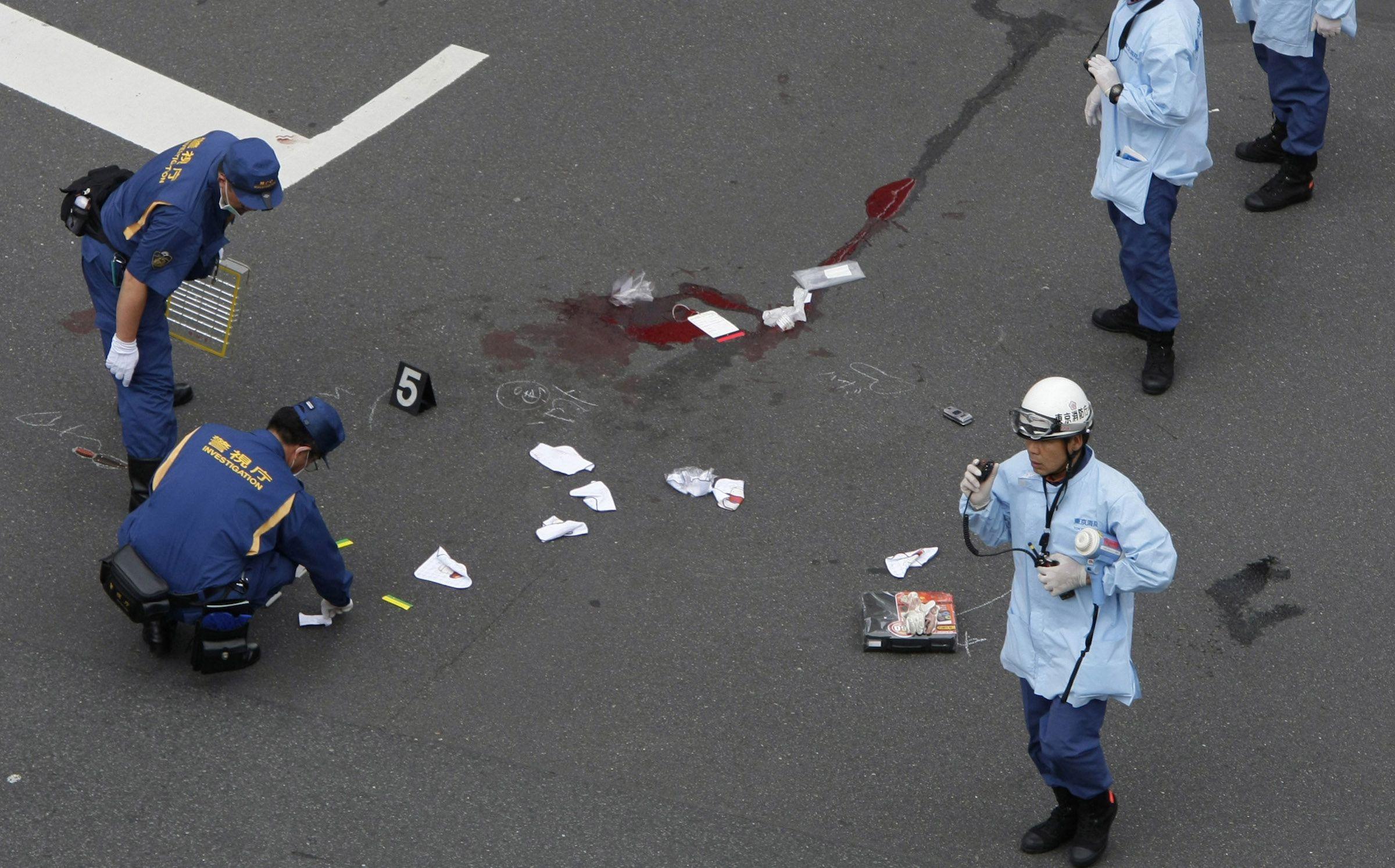 Stabbing in Japan