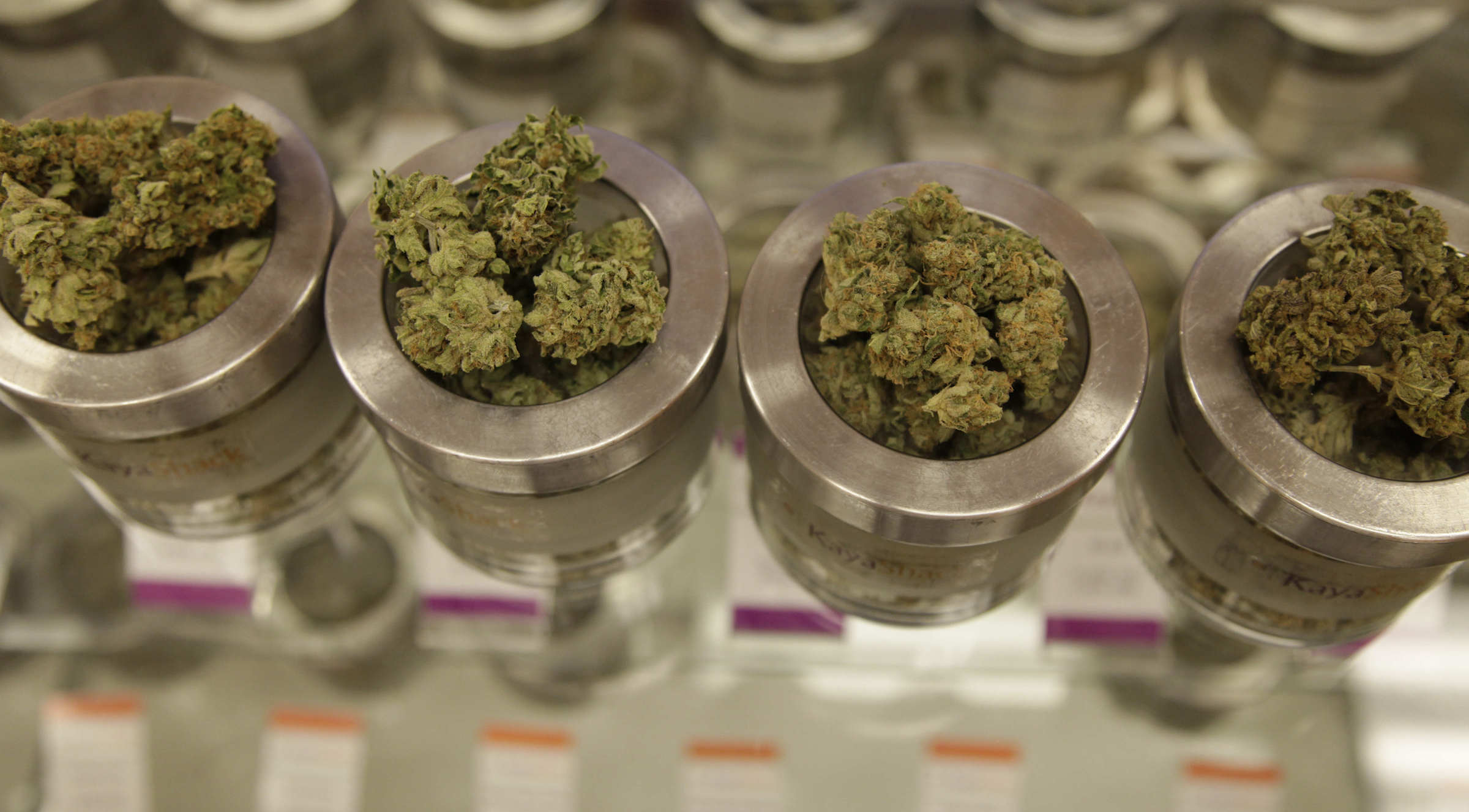 Marijuana canisters in Oregon