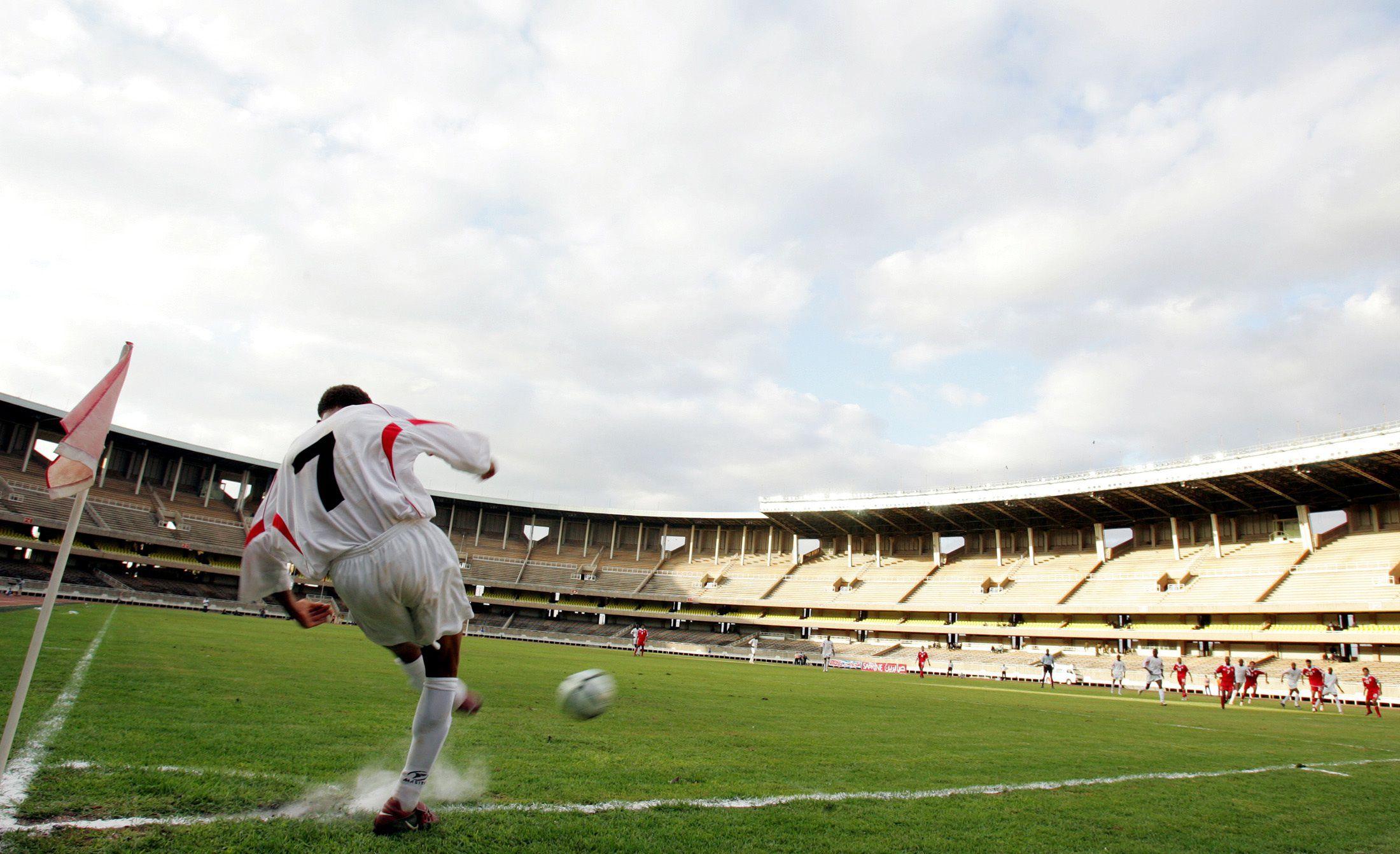Nairobi's Moi International Stadium.