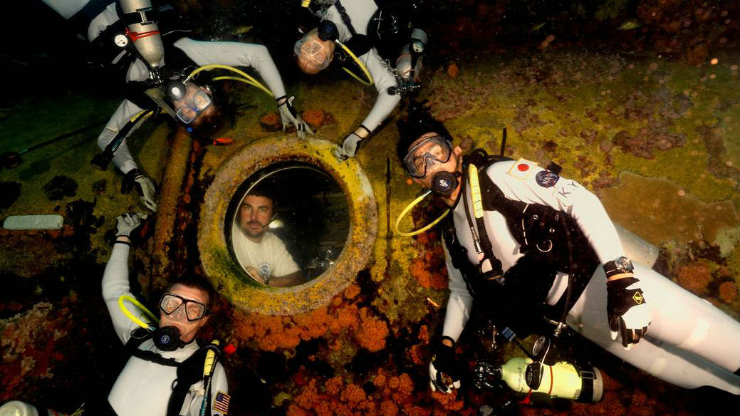 NASA is training astronauts for space in an underwater ...