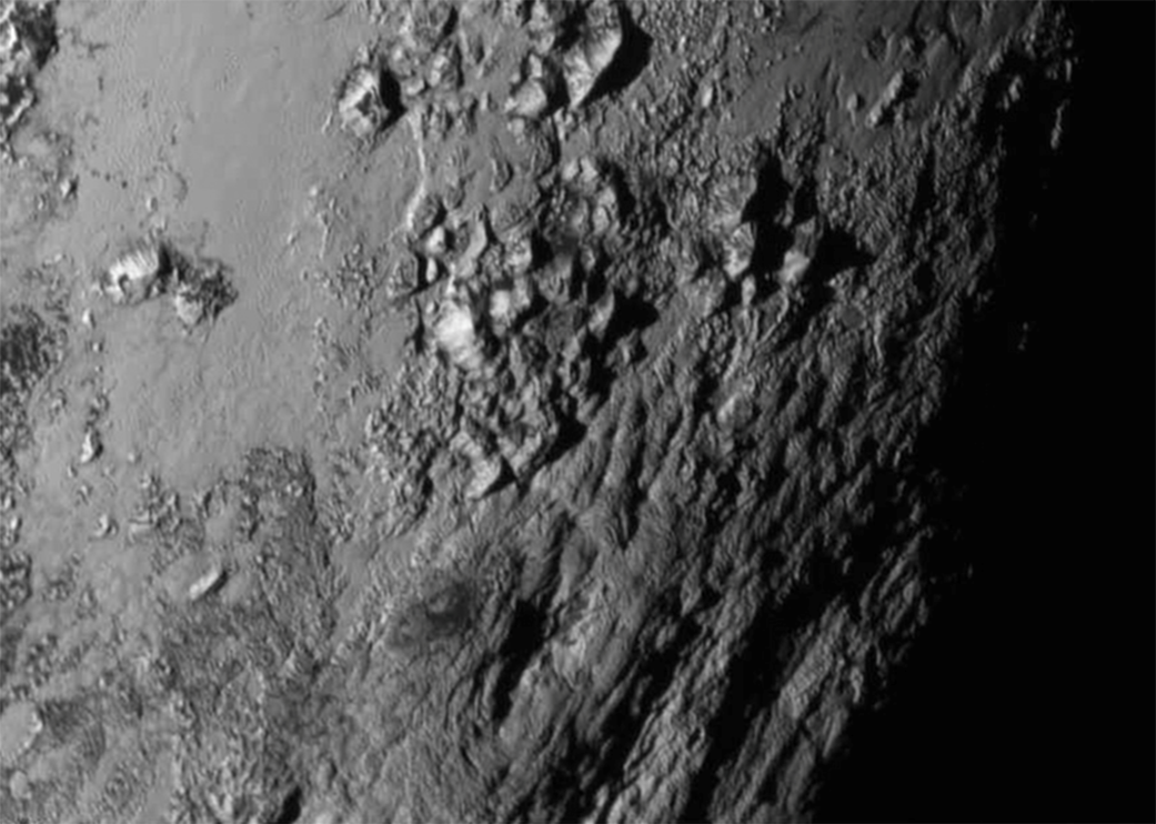 NASA Pluto surface