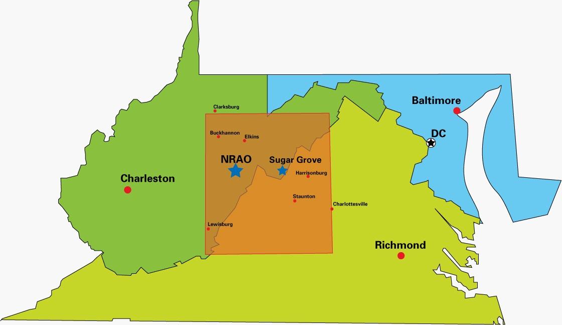 National Radio Quiet Zone