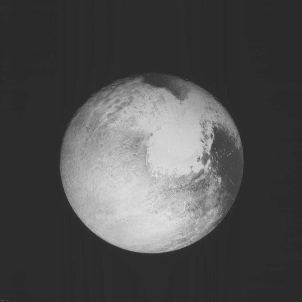 Pluto LORRI