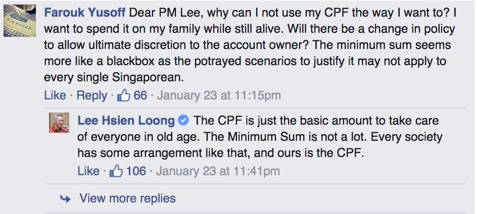 PM lee FB chat