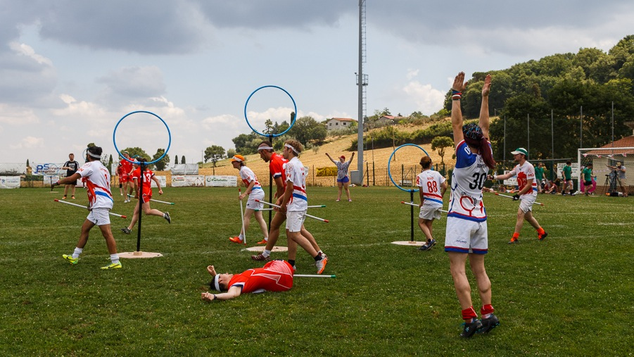 Quidditch in Tuscany.