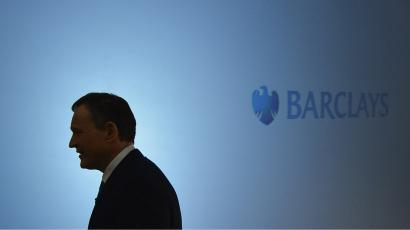 Antony Jenkins, chief executive of Barclays, poses for the media in central London.