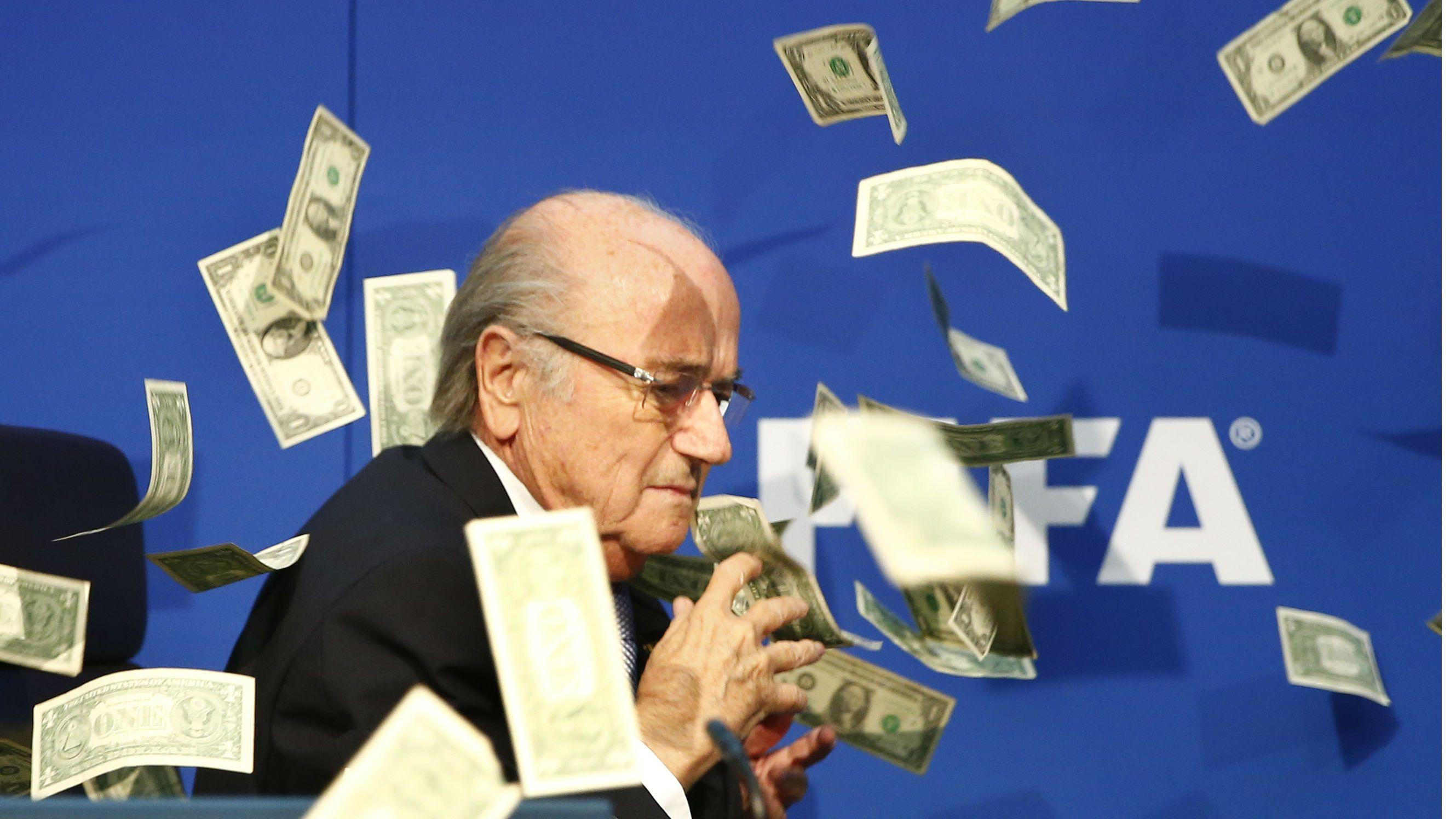 Sepp Blatter money