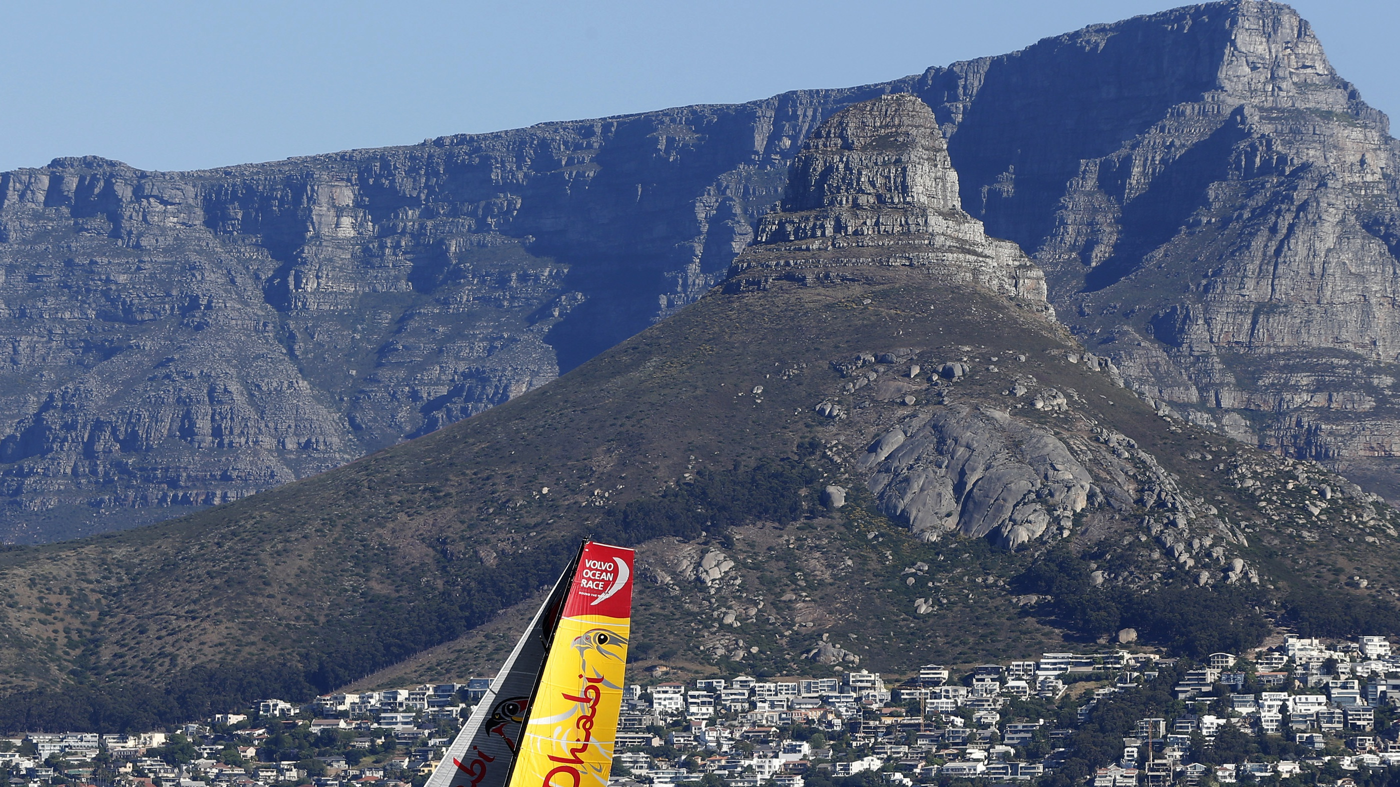 Table Mountain, a popular tourist attraction in South Africa, is one of the seven wonders of thr world.