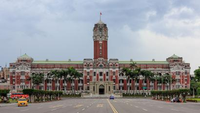 Taiwan's presidential office in Taipei.