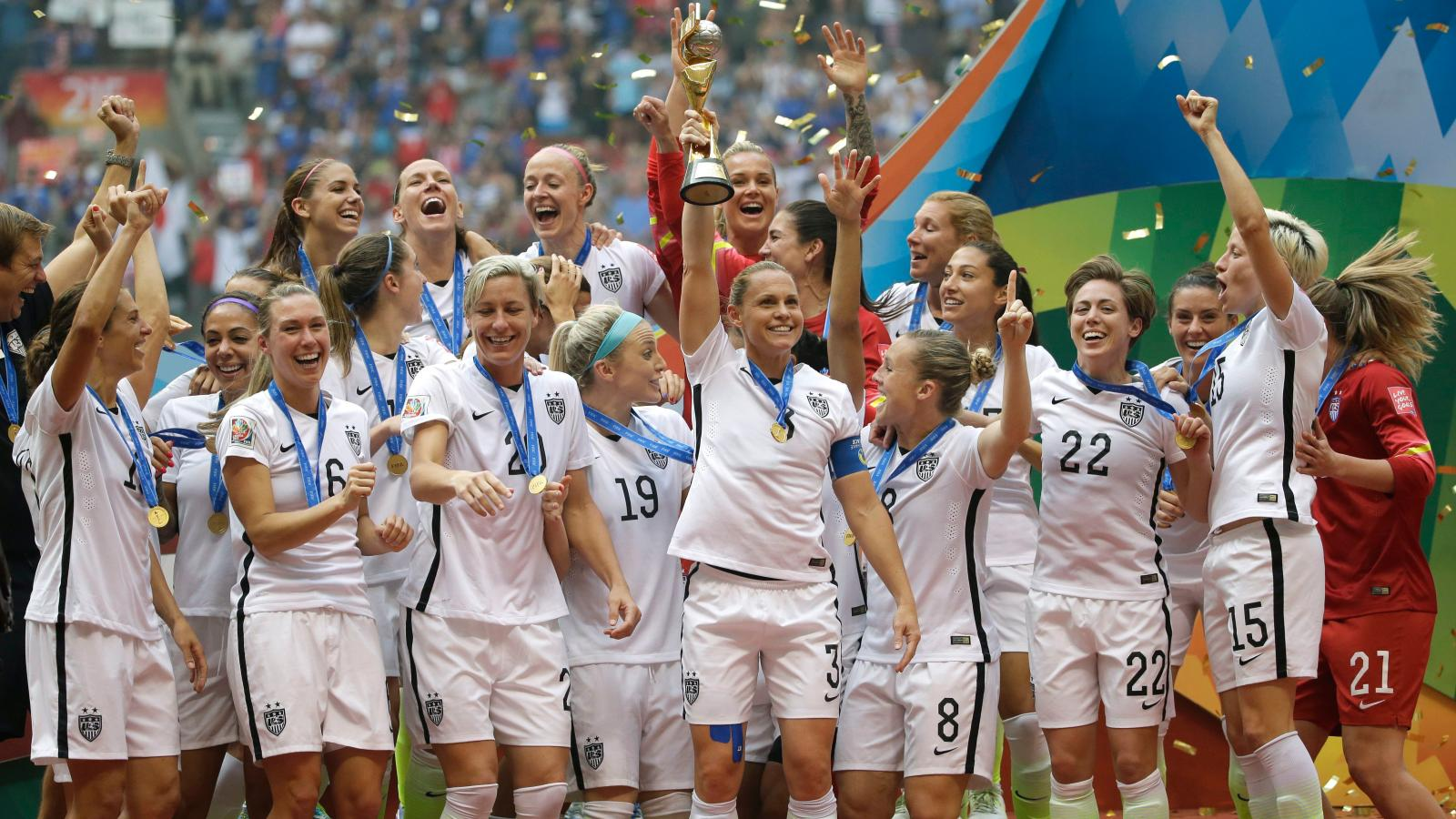 24006a3cbd7 The US women's soccer team is suing over gender discrimination