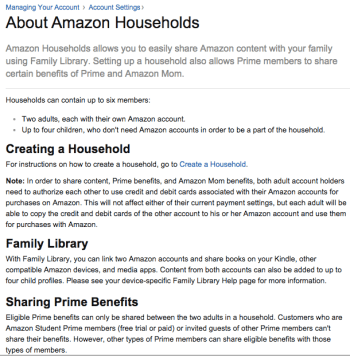 Amazon making it harder for Prime members to share benefits
