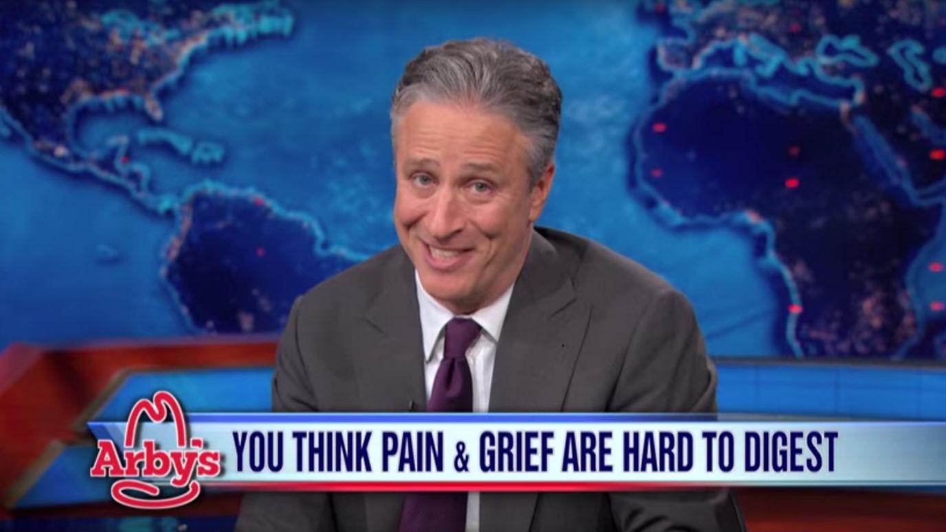 Daily Show Jon Stewart Arby's