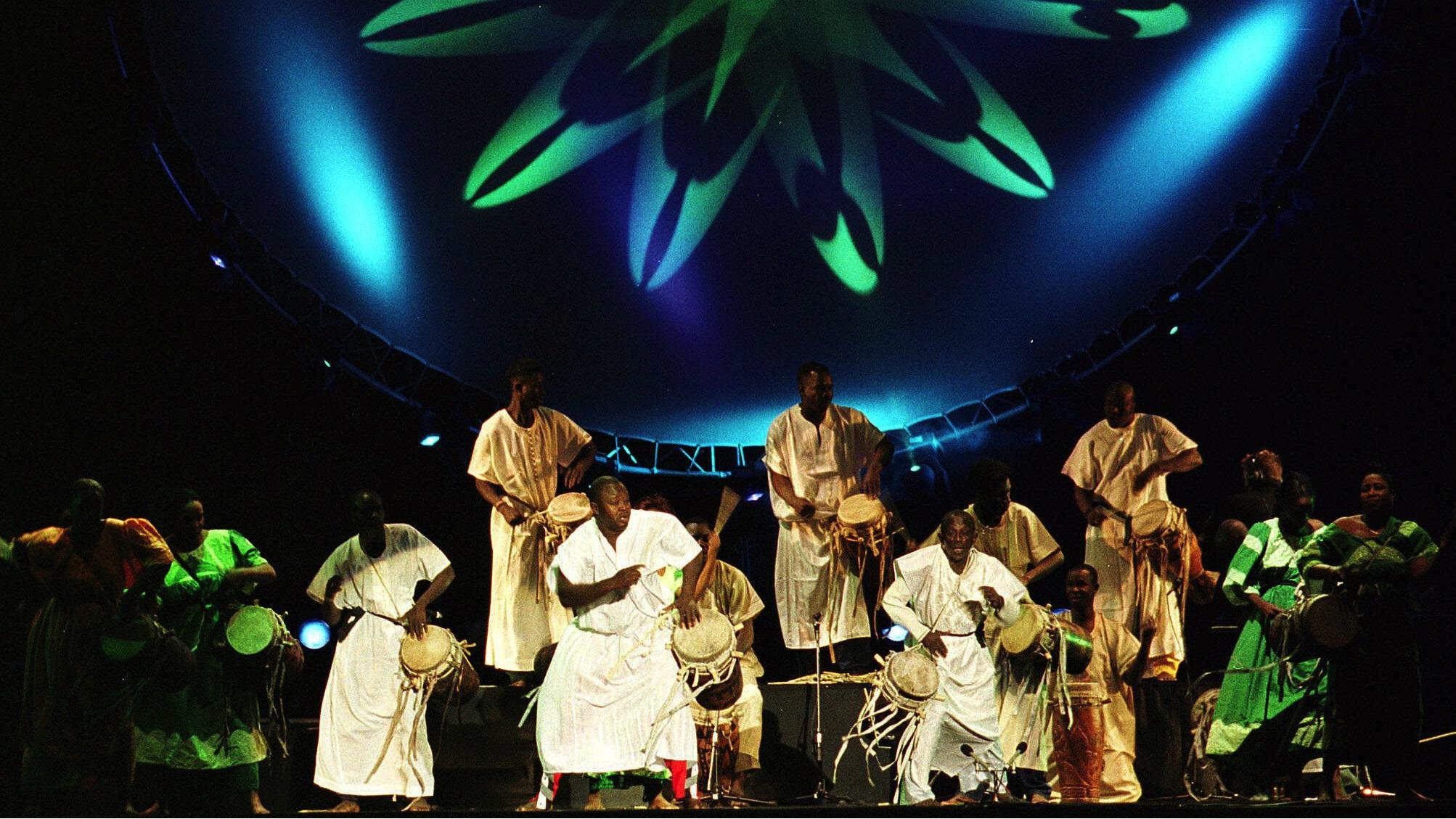 Doudou N'diaye Rose, Senegal's master drummer, has died.