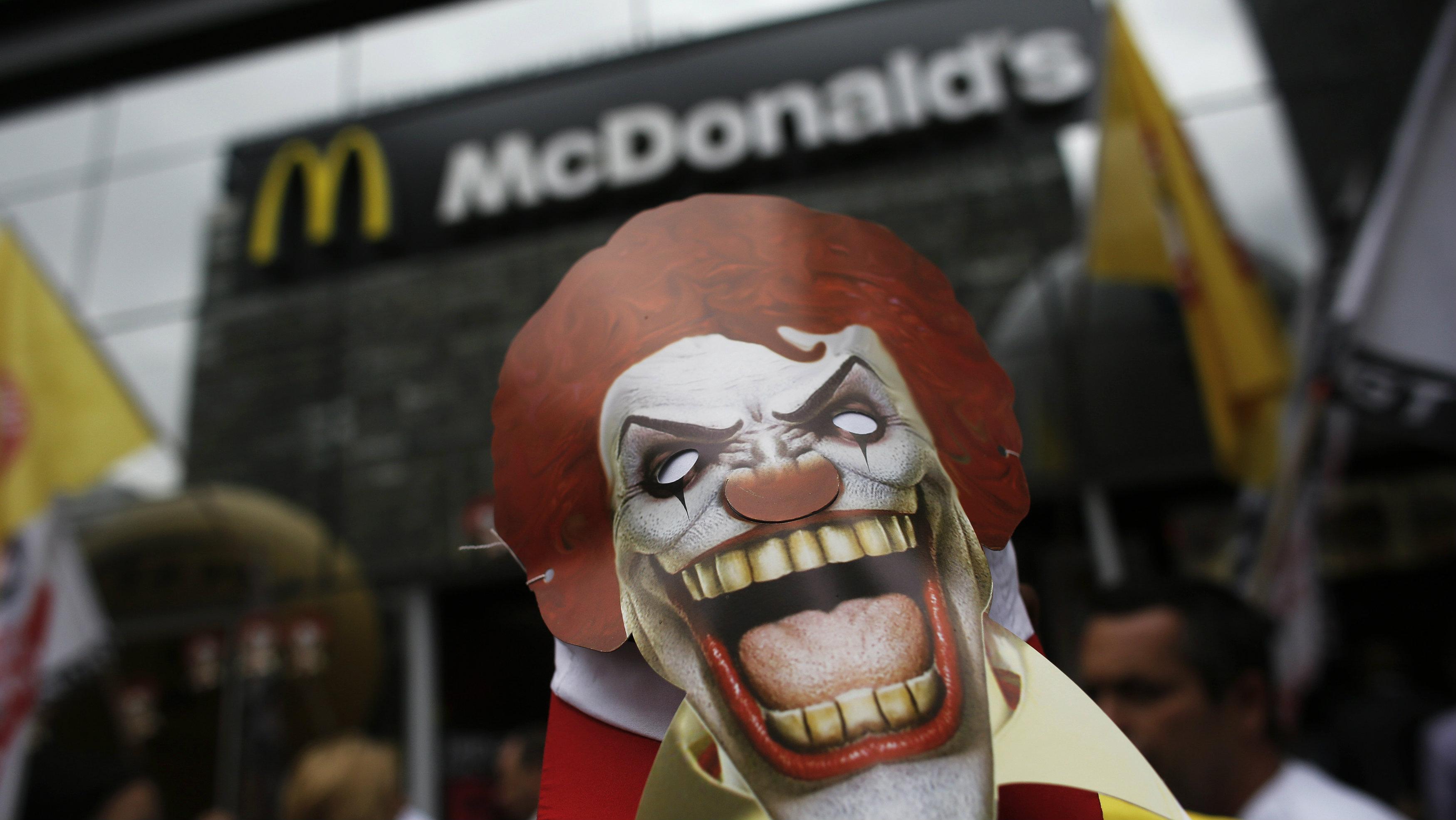 evil ronald mcdonald