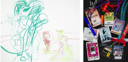 festival passes and drawing