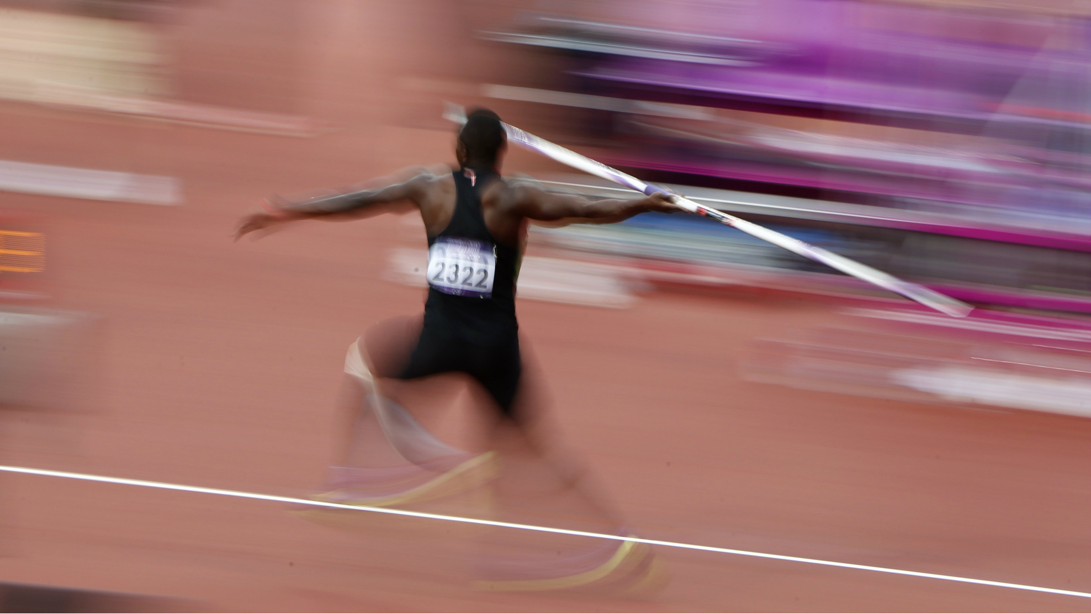 Kenya's Julius Yego competes in the men's javelin throw final at the London 2012 Olympic Games at the Olympic Stadium August 11, 2012.
