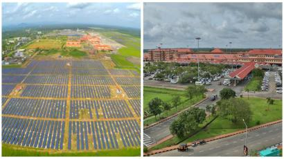 Kerala India Has The World S First Solar Powered Airport