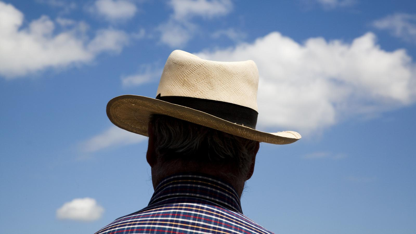 0aed98b9b The finest Panama hat in history, woven in a tiny Ecuadorean village ...