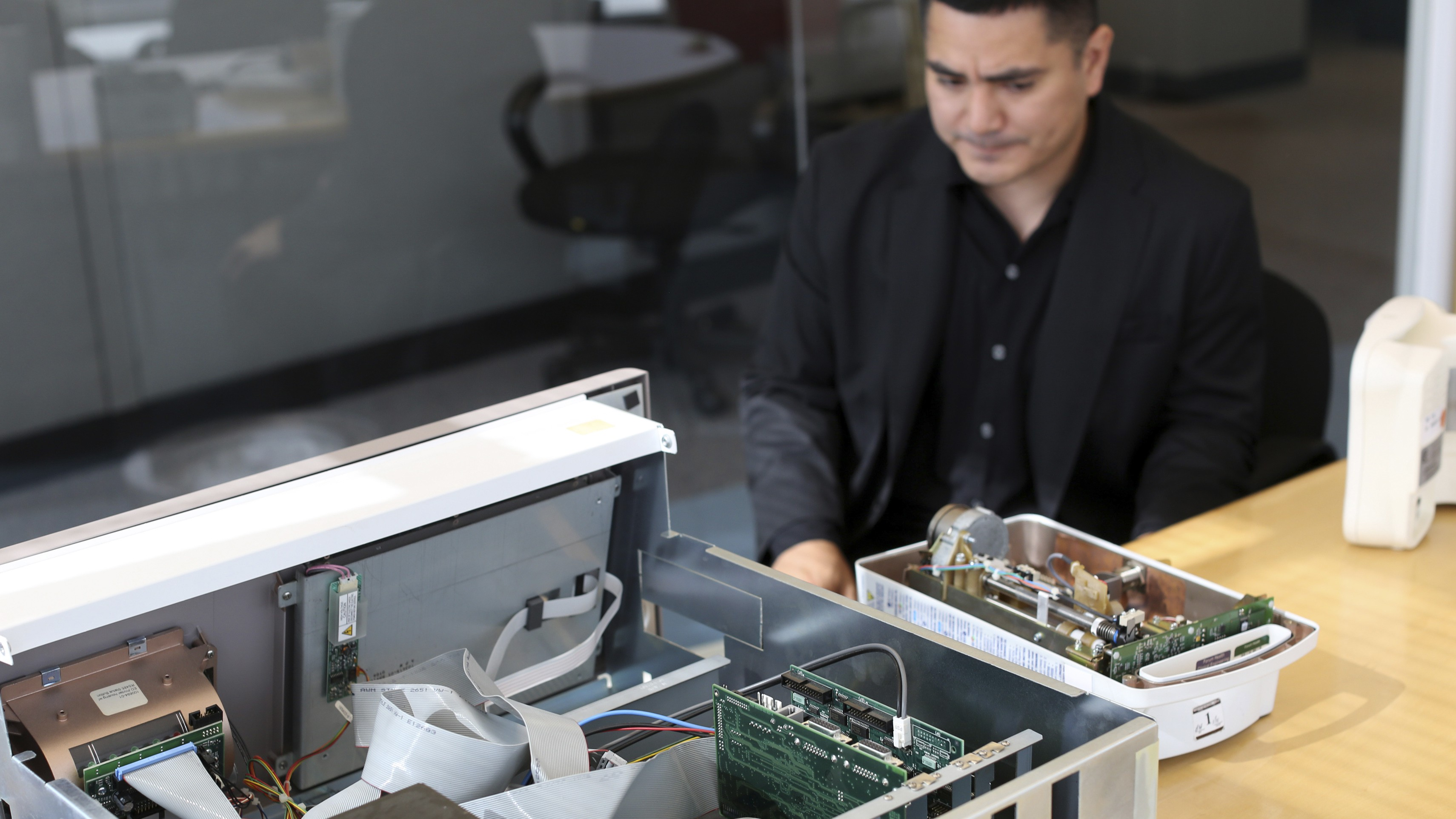 Cybersecurity researcher Billy Rios searches for flaws in medical equipment.