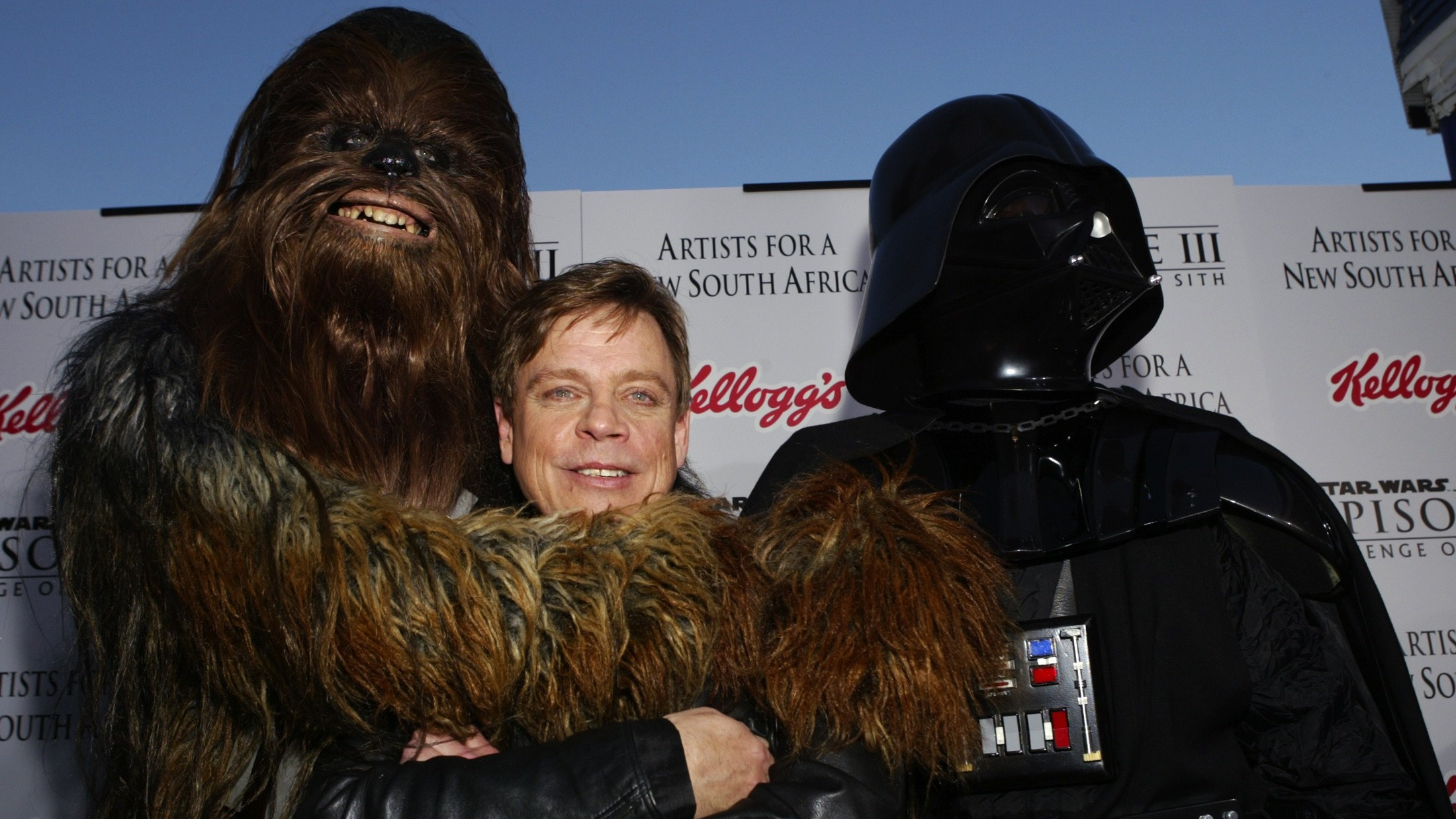 luke, chewie and vader