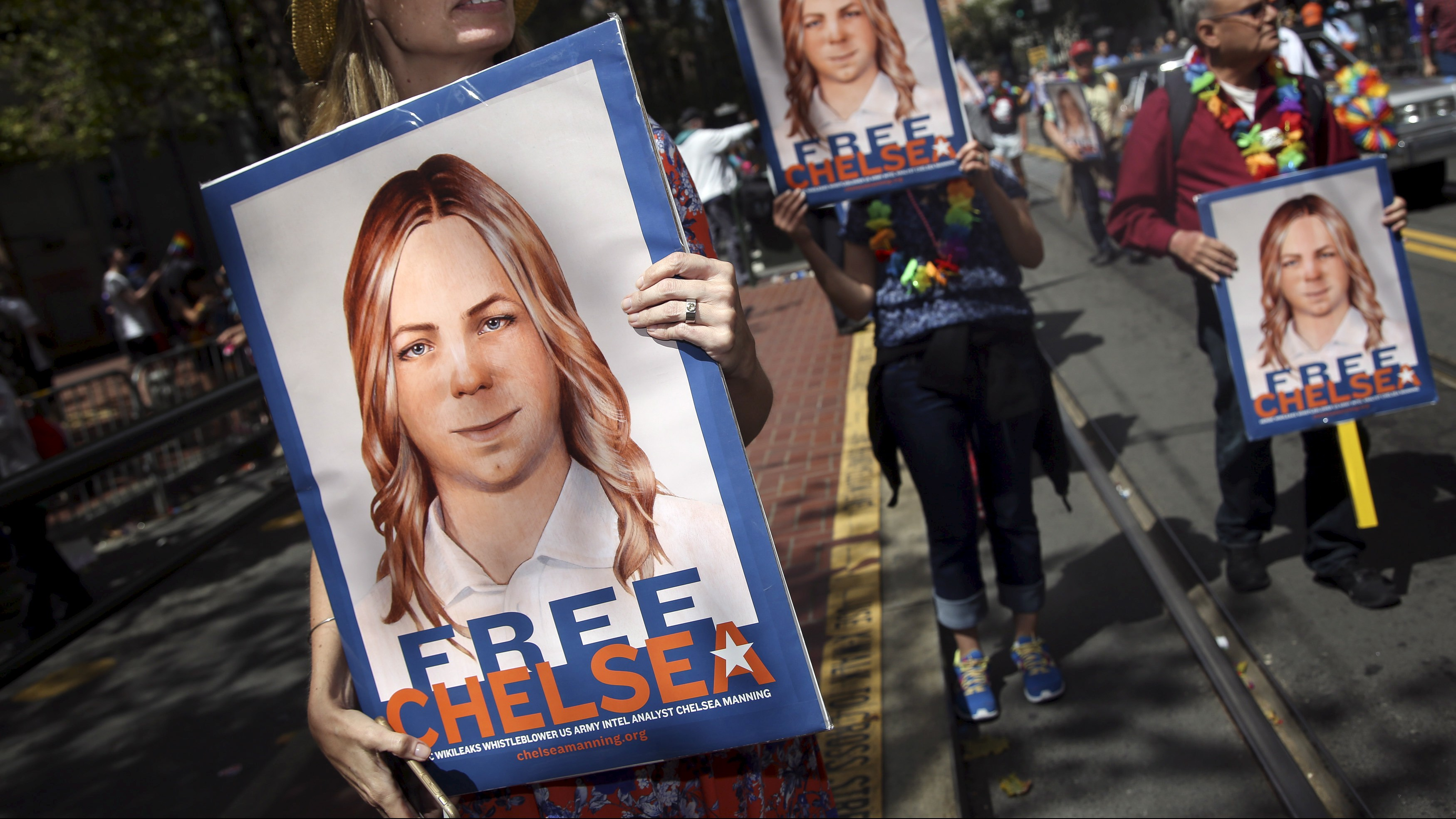 Manning is an advocate for transgender rights and freedom of speech.