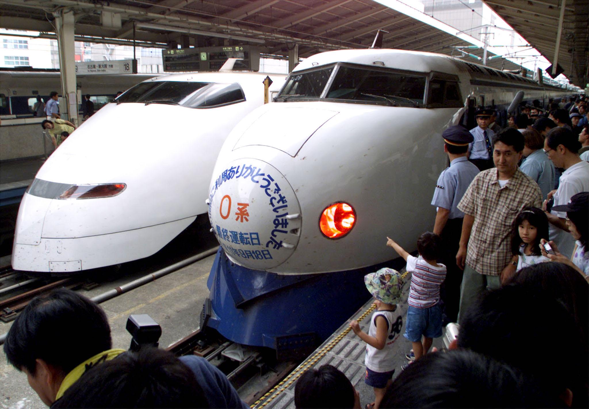 Bullet Train completes journey