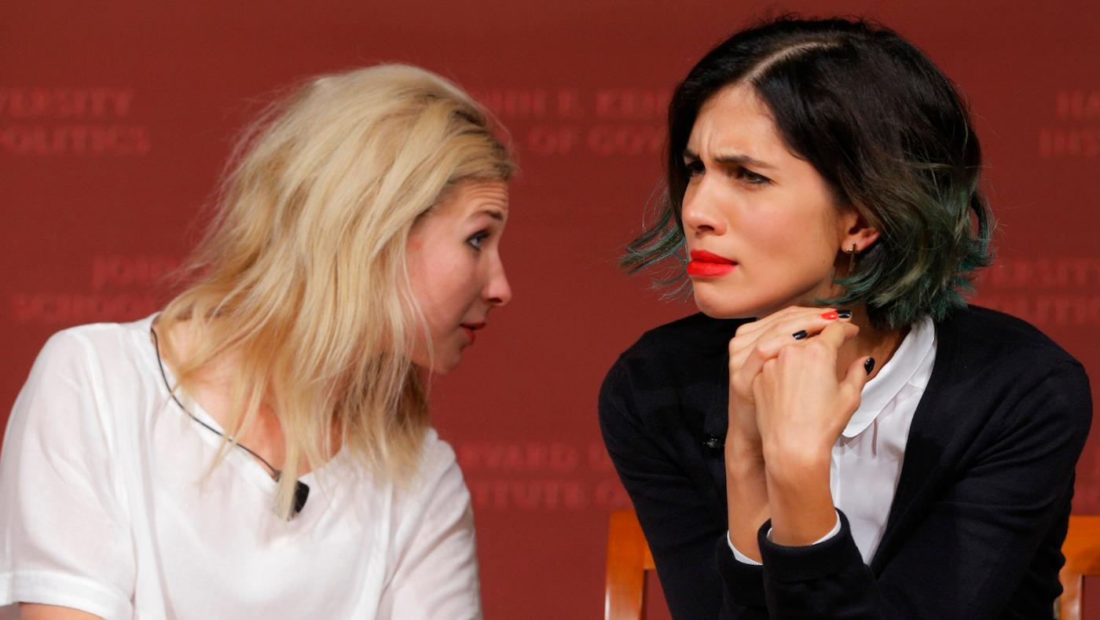Pussy Riots Nadya Tolokonnikova and Masha Alekhina