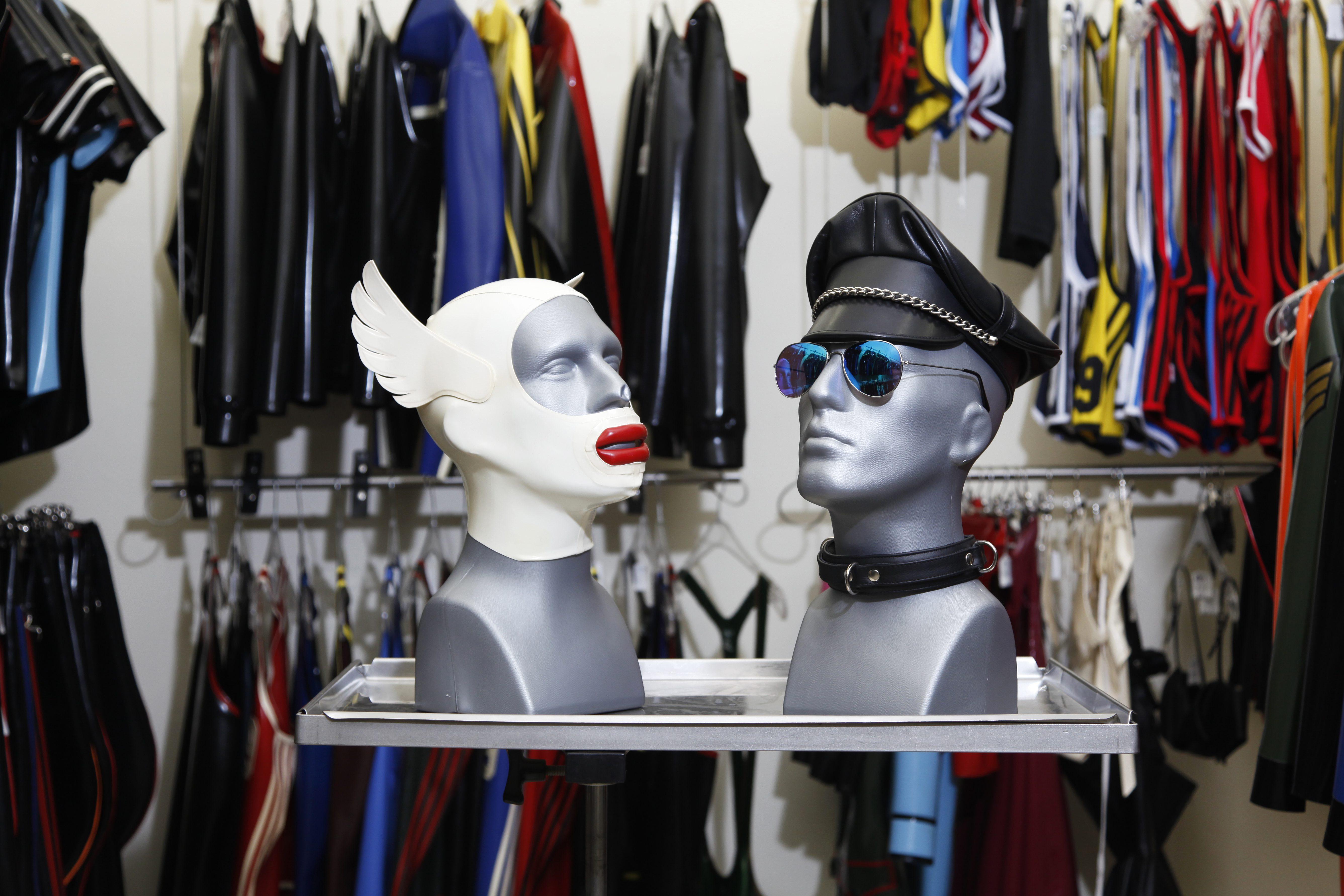 Masks at Butcherei Lindinger