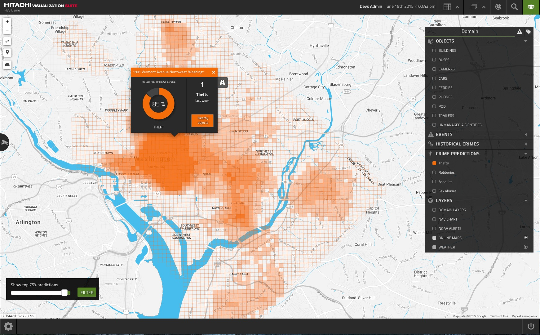 Hitachi says it can predict crimes before they happen