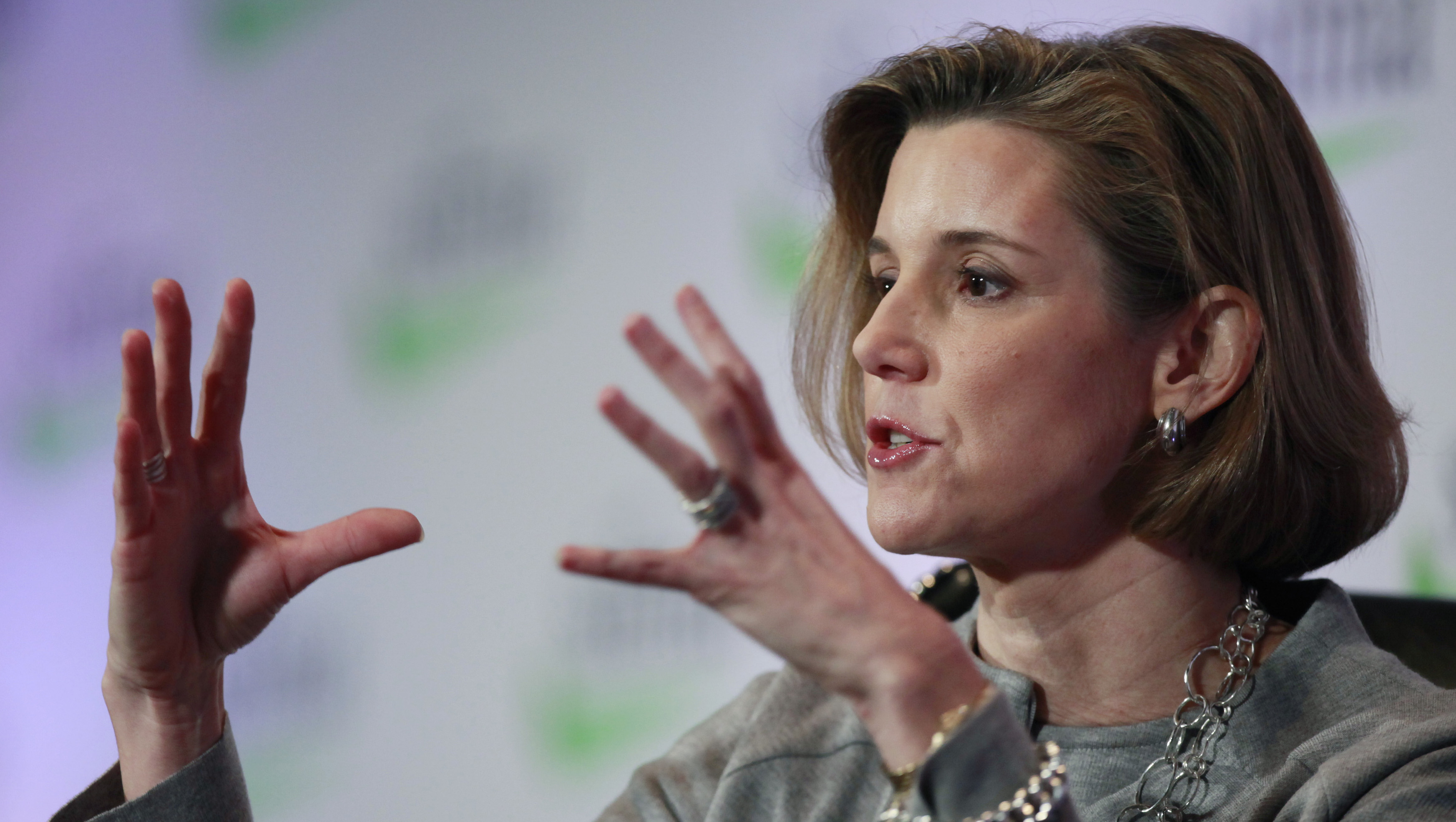 Sallie Krawcheck, former President of Global Wealth & Investment Management at the Bank of America.