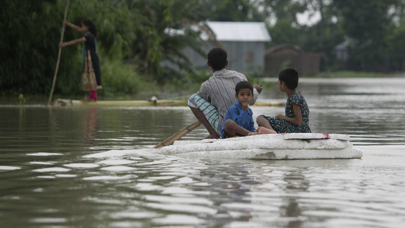 Over a million people are hit by floods in Assam—but India