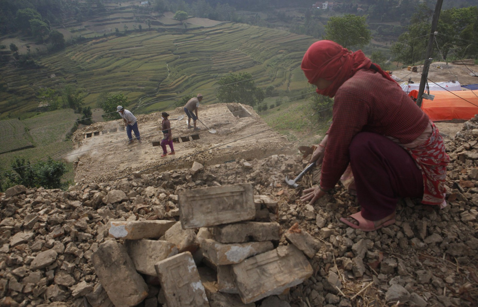 Nepal hasn t spent any of its earthquake relief aid yet for Quality houses