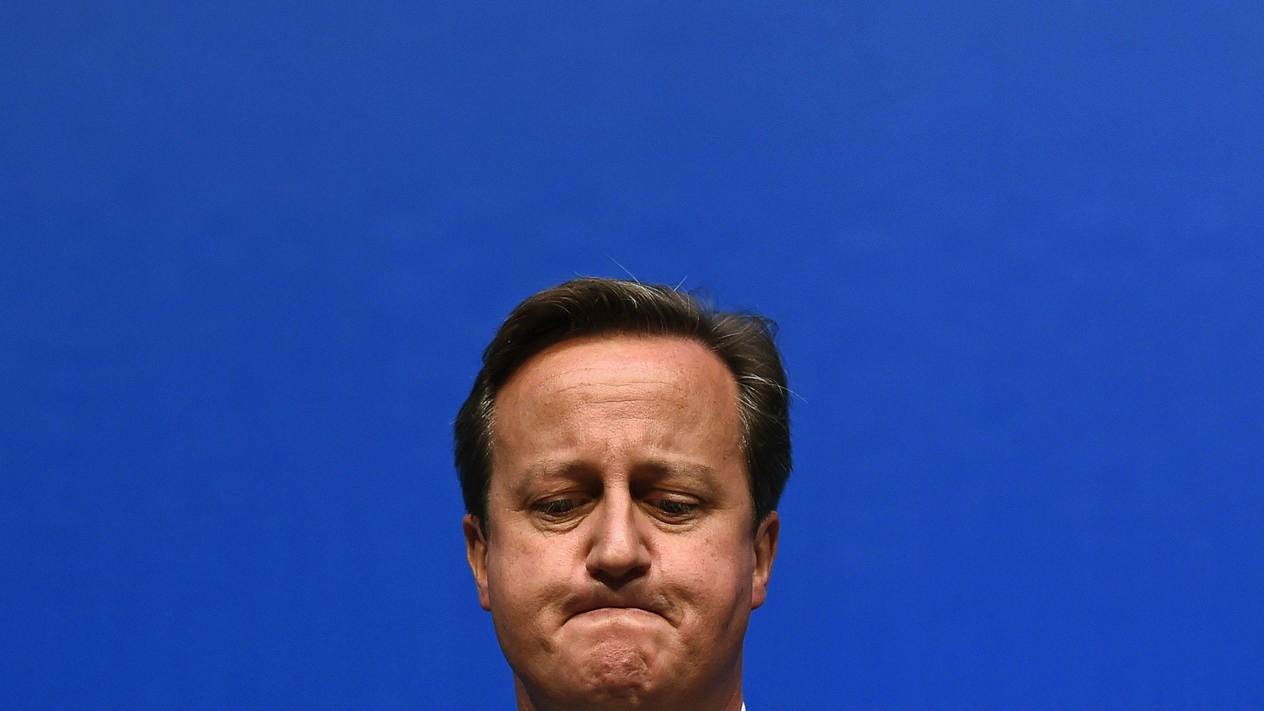 David Cameron John Oliver pig